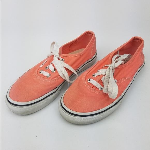 Vans Shoes | Peach Pink Kids Sneakers